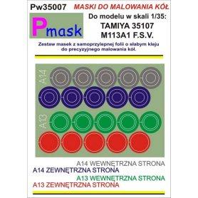 PMASK Pw35007 MASKI KOŁA T35107