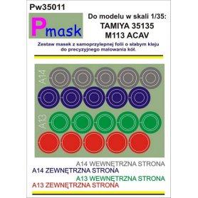 PMASK Pw35011 MASKI KOŁA T35135