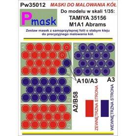PMASK Pw35012 MASKI KOŁA T35156