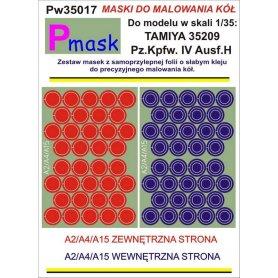 PMASK Pw35017 MASKI KOŁA T35209