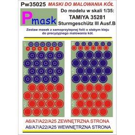 PMASK Pw35025 MASKI KOŁA T35281
