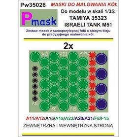 PMASK Pw35028 MASKI KOŁA T35323