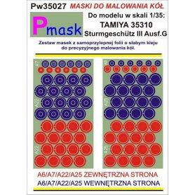 PMASK Pw35027 MASKI KOŁA T35310
