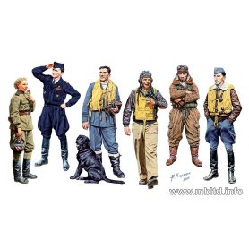 MB 1:32 Famous pilots WWII
