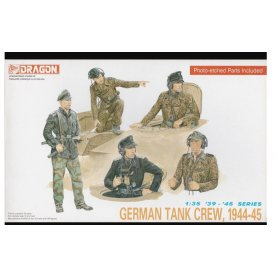 DRAGON 6014 GERMAN TANK CREW 1/35