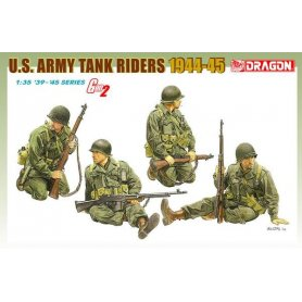 DRAGON 6378 US ARMY TANK RIDERS
