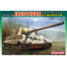 Dragon 6827 JagdTiger w/12,8 cm PAK