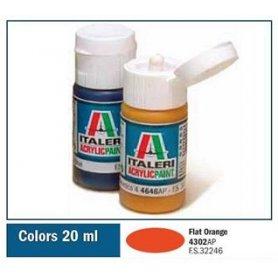 Italeri 4302 Akryl Flat Orange