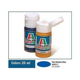 Italeri 4307 Akryl Flat Med. Blue