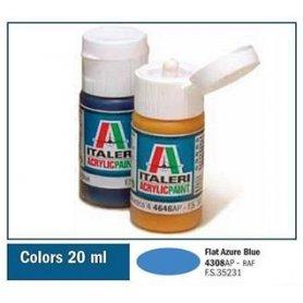 Italeri 4308 Akryl Flat Azure Blue | farba akrylowa |