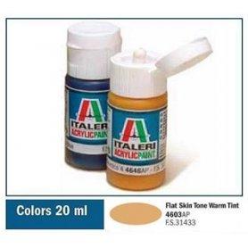 Italeri 4603 Akryl Skin Tone Warm T | farba akrylowa |