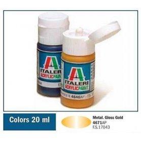 Italeri 4671 Akryl Gloss Gold | farba akrylowa |