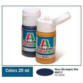 Italeri 4687 Akryl Gloss Blue (B.A)