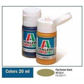 ITALERI 4711 AKRYL FLAT ARMOR SAND