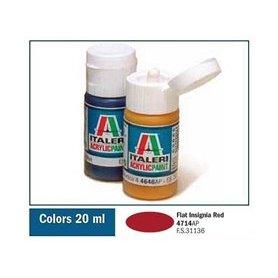 Italeri 4714 Akryl F. Insignia Red | farba akrylowa |