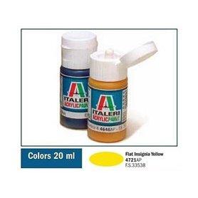 Italeri 4721 Akryl Flat Ins.Yellow