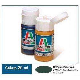 Italeri 4723 Akryl Verde Mimetico 2