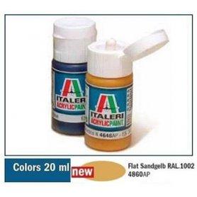 Italeri 4860 Akryl - Flat Sandgelb Ral 1002