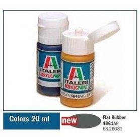 Italeri 4861 Akryl - Flat Rubber
