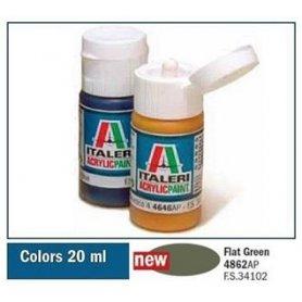 Italeri 4862 Akryl - Flat Green