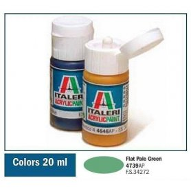 Italeri 4739 Akryl Flat Pale Green