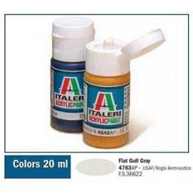 Italeri 4763 Akryl Flat Gull Gray