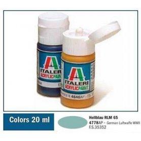 Italeri 4778 Akryl Hellblau Rlm65
