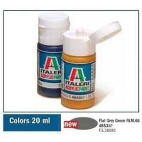 Italeri 4853 Akryl - Grey Green Rlm.66