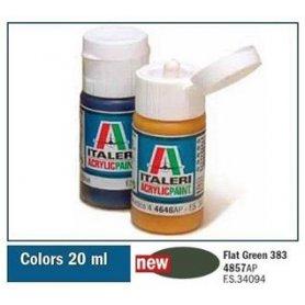 Italeri 4857 Akryl - Flat Green 383