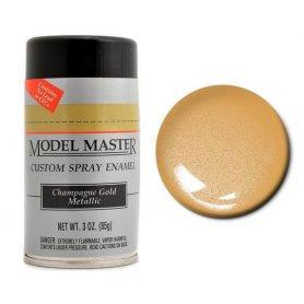 MODEL MASTER Master 2922 Spray Chrome Gold Mettalic 85g