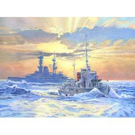 MisterCRAFT 1:500 HMS Ivanhoe