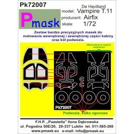 PMASK Pk72007 VAMPIRE T.11 AIRFIX