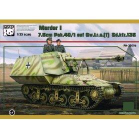 Panda 35006 SdKfz 135-1 7,5 cm Marder I Lorraine