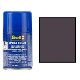 Revell 34108 Spray Black Matt 108