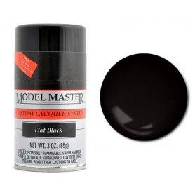MODEL MASTER 28134 SPRAY FLAT BLACK