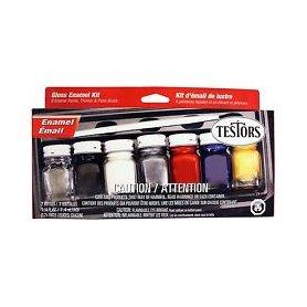 Testors 9115 Hobby Paint Set - 7 kolorów
