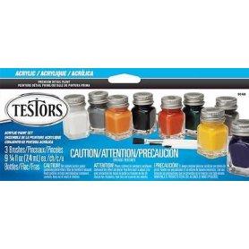 Testors 9148 Craft Acrylic Paint Set