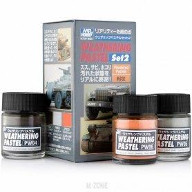 Gunze Weathering pastel set cz.2