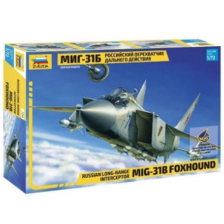 Zvezda 7244 1/72 Mig-31B Foxhound