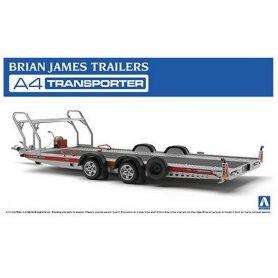 Aoshima 05260 1/24 Brian James Trailers A4 Transp.