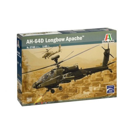 Italeri AH-64D LONGBOW APACHE