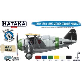 Hataka Early USN and USMC Section Colours | Zestaw farb |
