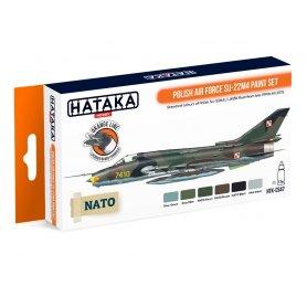 Hataka HTK-CS47 Polish Air Force Su-22M4 paint set