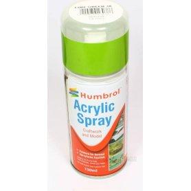 Farba w sprayu Humbrol 038 Lime Gloss