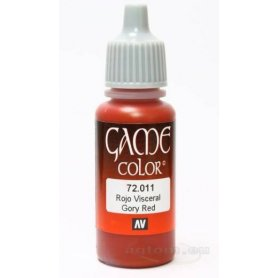 VALLEJO Game Color 11. Gory Red