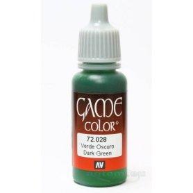 VALLEJO Game Color 28. Dark Green