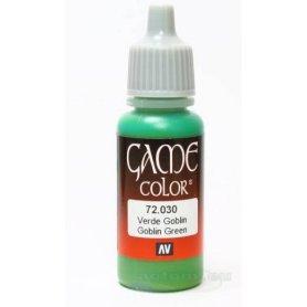 VALLEJO Game Color 30. Goblin Green