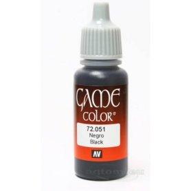VALLEJO Game Color 51. Black
