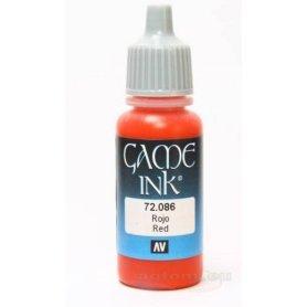 VALLEJO Game Color 86. Red Ink