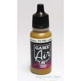 Vallejo GAME AIR 72740 Farba akrylowa LEATHER BROWN - 17ml